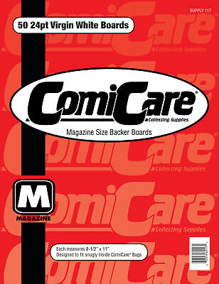 50 Comicare Magazine Size Backer Boards