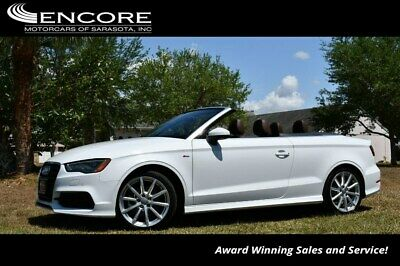 2016 Audi A3 2dr Cabriolet quattro 2.0T Premium Plus W/Tecnolog 2016 A3 Convertible 28,395 Miles With warranty-Trades,Financing & Shipping