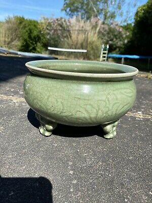 A rare 16th century Ming dynasty Chinese LongQuan center