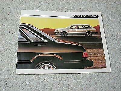 1982 Subaru (Usa) Sales Brochure..