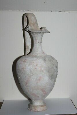 GOOD ANCIENT GREEK POTTERY RED FIGURE EPICHYSIS 4th CENTURY BC