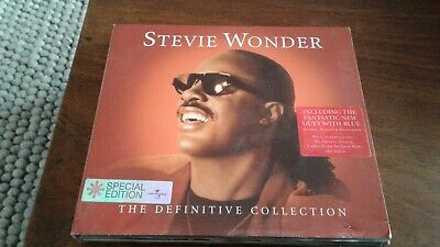 Stevie Wonder ‎– The Definitive Collection Double CD Album