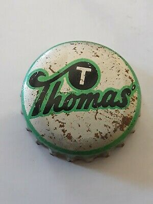 Old Cork Bottle Cap THOMAS Brookvale  Australia