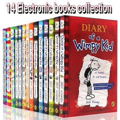 Diary of a wimpy kid 14 Electronic books collection ✅  ( PDF ) ✅ by Jeff Kinney