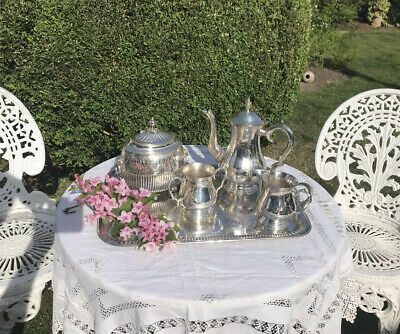 Five Piece Silver Tea Set *Open To Offers*
