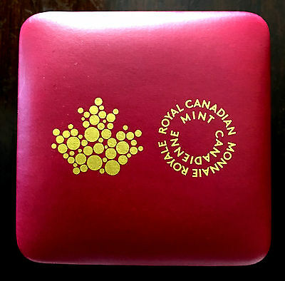 Royal Canadian Mint New Purple Clamshell 1Oz Box W/ Insignia Maple Leaf -No Coin