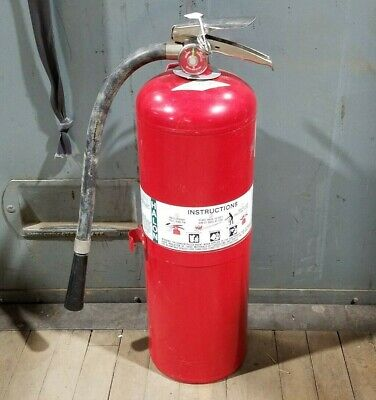 Amerex 20lb Halon 1211 Fire Extinguisher Fully Charged Clean Agent W/ Hose 1987