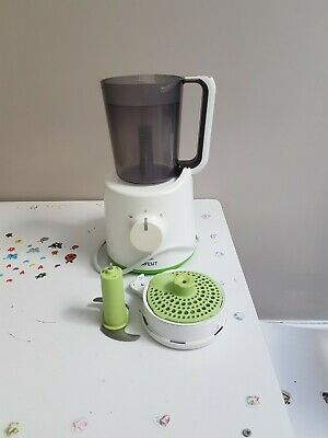 philips avent baby food steamer and belnder