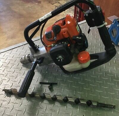 ECHO EDR-260 EDR260 Gas Drill Forward Reverse NICE !! Great Price !! With Bit