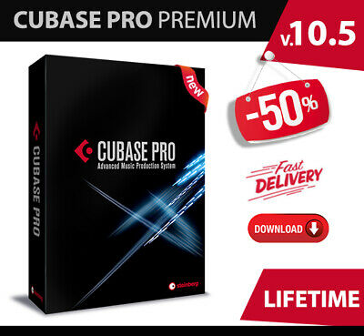 Steinberg Cubase Pro 10.5 Full Edition + Nuendo 10 pro💥Lifetime✔inst Delivery✔