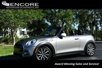 2017 MINI Cooper S W/Fully Loaded, Sport and Technology Packages 2017 Cooper S Convertible Convertible 25,192 Miles With warranty-Trades,Financin