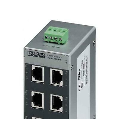Phoenix Contact Ethernet Switch FL SWITCH SFN 8TX IP20 Switch 2891929 Ethernet