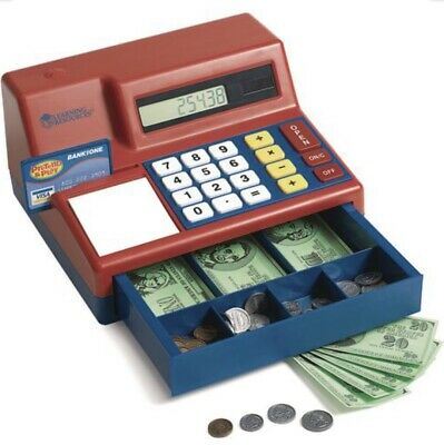 Learning Resources New Pretend & Play Cash Register Ages 3+ / Grades PreK+