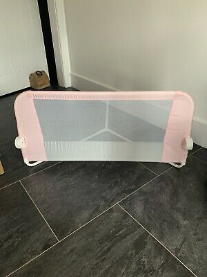 Lindam Easy Fit Folding Bed Guard - Pink - Barely Used