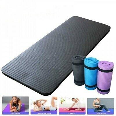 Non-Slip Fitness Pad Yoga Mat Workout Exercise Gym Meditation Mat Fitness Thick