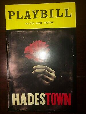 Hadestown OBC Playbill July 2019
