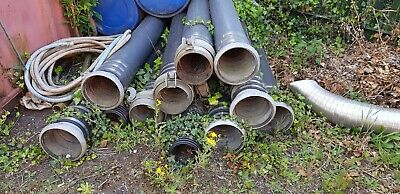 """8"""" PE pump pipes with Bauer fittings"""
