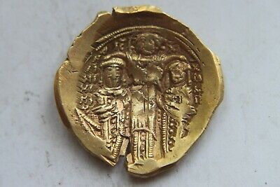ANDRONICUS II and MICHAEL IX 1295-1320 ELECTRUM Byzantine Ancient GOLD Coin