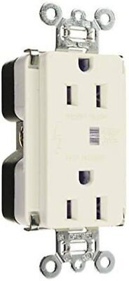 Pass & Seymour 52525252WSPCCV6 SURGE protector OUTLET legrand 15 amp white