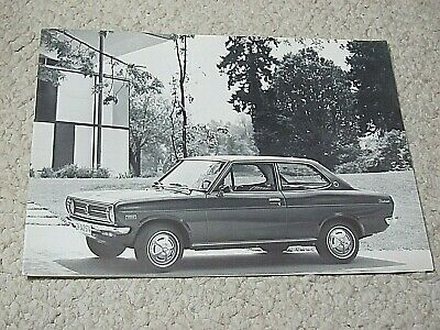 1971 Datsun 1200 Sales Brochure..