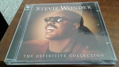 Stevie Wonder - The Definitive Collection 2 x CD Album 38 Motown Tracks