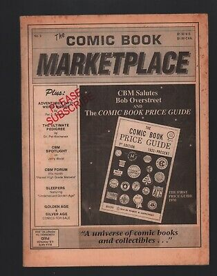 Comic Book Marketplace Magazine #2 VG+ 4.5 Overstreet Price Guide Salute Article