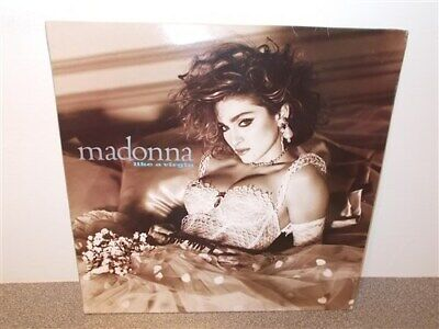 Madonna . Like A Virgin . with Inner Sleeve . Record LP