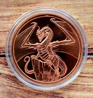 World Of Dragons Welsh Copper Round