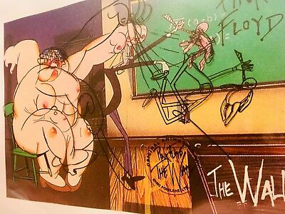 PINK FLOYD Promo FILM Production Animation CEL THE WALL ROGER WATERS art DRAWING