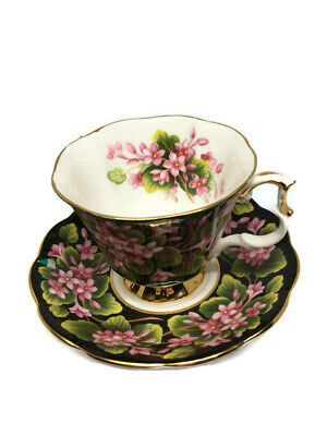 Royal Albert Provincial Flowers Mayflower Cup and Saucer - Flawless