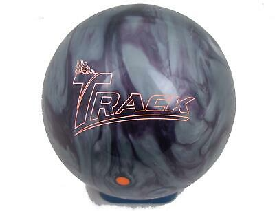 14lb Track Cyborg Pearl Tenpin Bowling Ball - plugged & refinished, undrilled