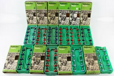 10 assorted vintage boxed Subbuteo football teams (Ref 2)