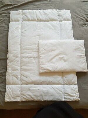 Cot Bed Duvet And Pillow Never Used