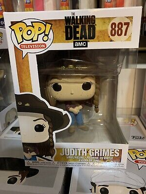 Funko Pop! Television The Walking Dead #887 Judith Grimes W/Pop Shield