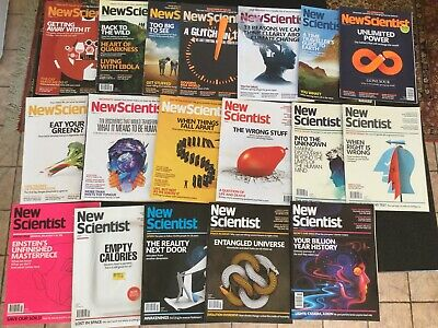 New Scientist Magazine 18 Copies From 2015 Good Condition - Lots Of InTerest