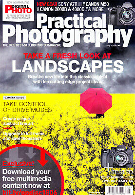 Practical  Photography magazine with  Fujifilm X-H1  camera tested   May  2018