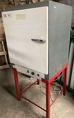 GRIFFIN & GEORGE LAB OVEN INCUBATOR INDUSTRIAL DRYER WARMING 140 DEGREES C 240v