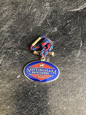 Nottingham Horse Racing Members Badge - 2000