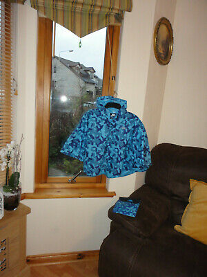 Pack a Poncho from Trepass ,New without tags, One size( up to 10yo)