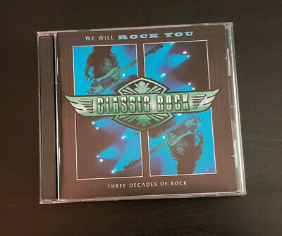 Cd Double Album - Timelife - Classic Rock - We Will Rock You