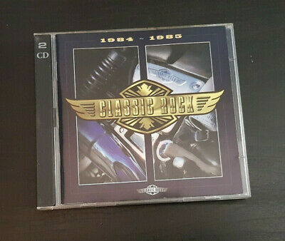 Cd Double Album - Timelife - Classic Rock - 1984-1985