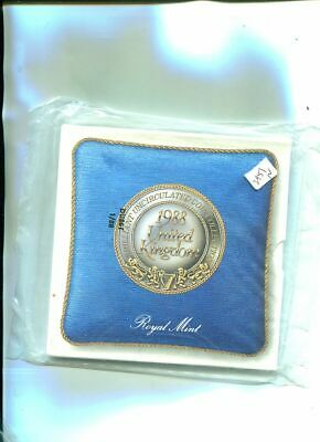 1988 Great Britain 7 Coin Government Set Sealed 2951N
