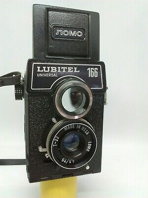 Lubitel 166 Universal TLR Camera. Good Condition. Film Tested. Lomography Lomo