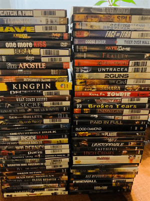 Lot of 70 used DVD