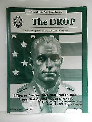 Green Beret, The Drop Magazine, Spring 2003 Issue, Special Forces Association