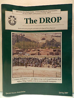 """""""Green Beret"""" The Drop Magazine, Spring 2007 Issue, Special Forces Association"""