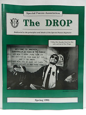 """""""Green Beret"""" The Drop Magazine, Spring 1993 Issue, Special Forces Association"""