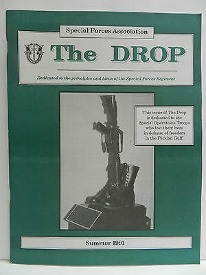 """""""Green Beret"""" The Drop Magazine, Summer 1991 Issue, Special Forces Association"""