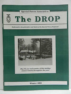 """""""Green Beret"""" The Drop Magazine, Spring 1991 Issue, Special Forces Association"""