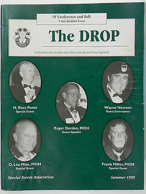 """""""Green Beret"""" The Drop Magazine, Summer 1999 Issue, Special Forces Association"""